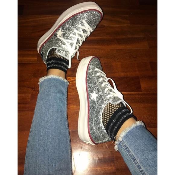 adadb7268135 Chiara Ferragni x Converse Platform Sneakers